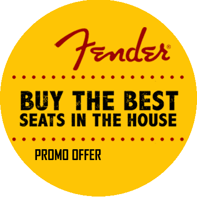 Fender Best Seats in the House promotion available.