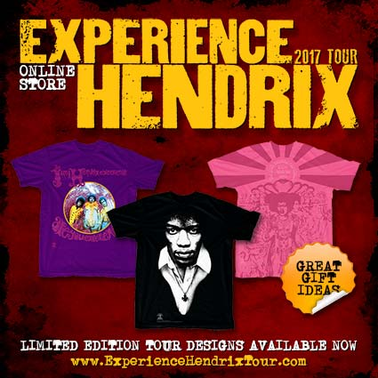 Visit the new Experience Hendrix Tour Store